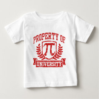 Property of Pi University Infant T-shirt