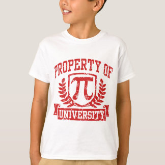 Property of Pi University T-Shirt