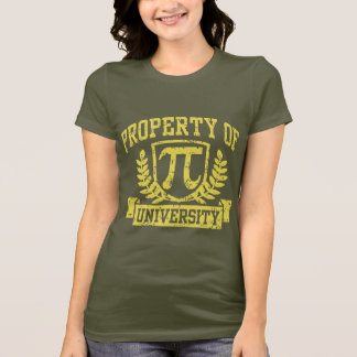 Property of Pi University T-Shirt