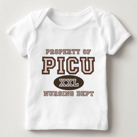 Property of PICU Nursing Dept Baby Long Sleeve Tee