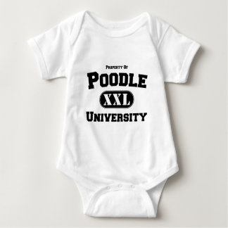 Property of Poodle University Baby Bodysuit