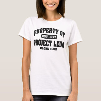 Property Of Project Leda (Black) T-Shirt