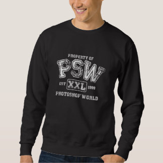 Property of PSW Photoshop World Sweatshirt