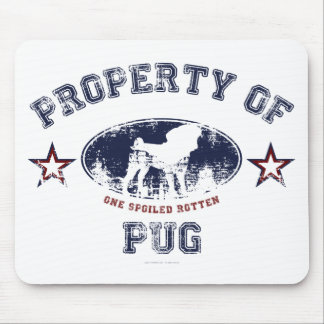 Property Of Pug Mouse Pad