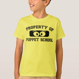 Property of Puppet School Junior! T-Shirt