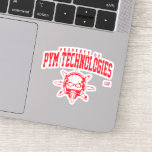 Property of PYM Technologies Sticker