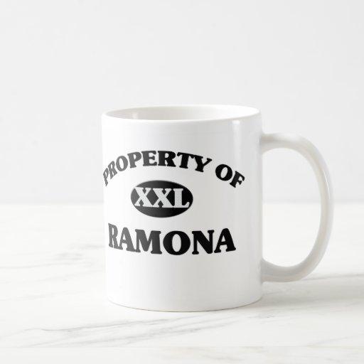 Property of RAMONA Mugs
