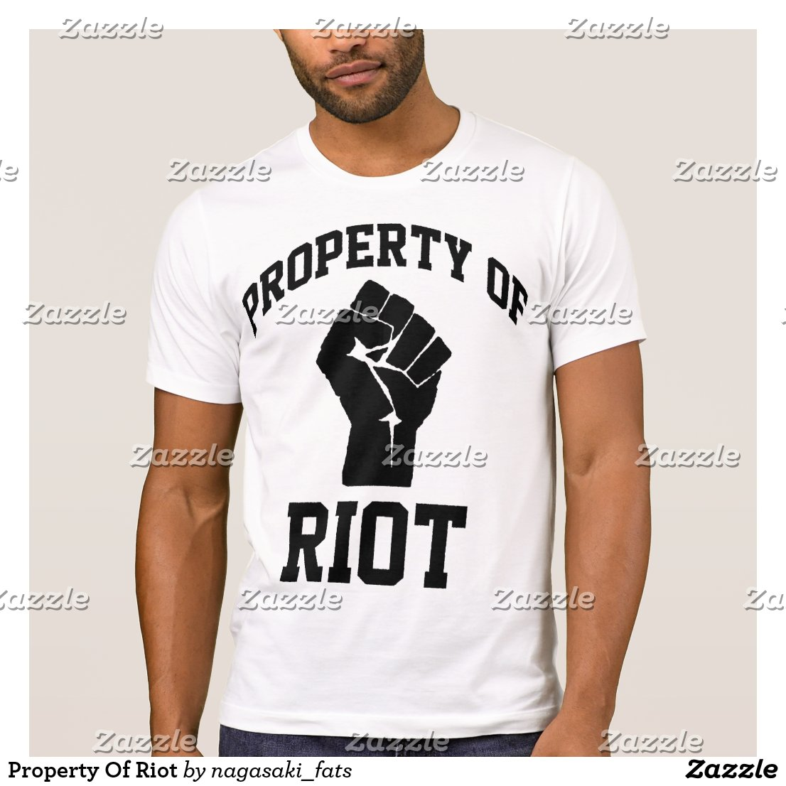 Property Of Riot T-Shirt