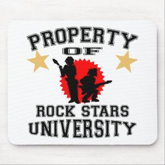 Property Of Rock Star University Mouse Pad
