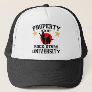 Property Of Rock Star University Trucker Hat