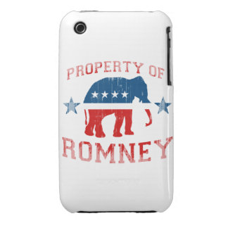 PROPERTY OF ROMNEY iPhone 3 COVERS