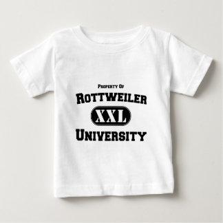 Property of Rottweiler University Baby T-Shirt