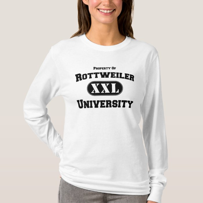 Property of Rottweiler University T-Shirt