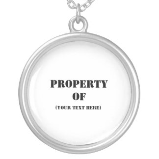 Property Of Round Pendant Necklace
