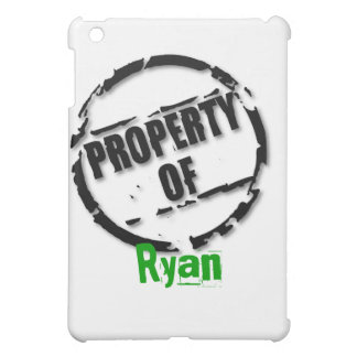 Property of Ryan iPad Case