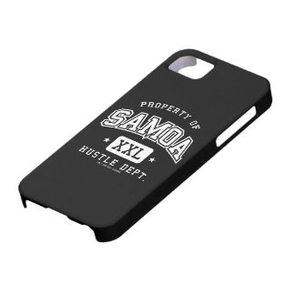 Property of SAMOA iPhone SE/5/5s Case