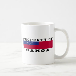 Property Of Samoa Mug