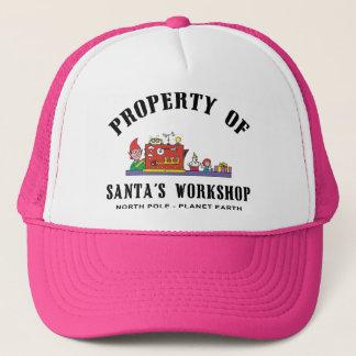 Property of Santa's Workshop Gift Trucker Hat