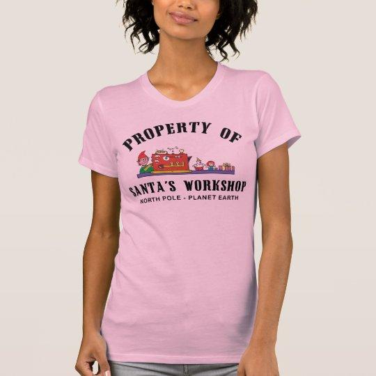 Property of Santa's Workshop T-Shirt