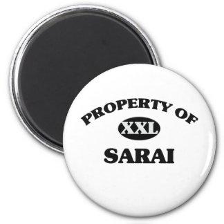 Property of SARAI Magnet