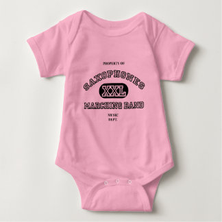 Property of Saxophones Baby Bodysuit