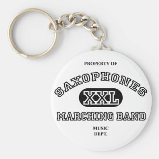 Property of Saxophones Keychain