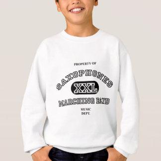 Property of Saxophones Sweatshirt