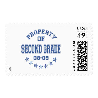 Property Of Second Grade Stamp