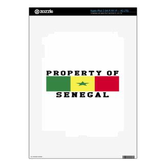 Property Of Senegal iPad 3 Decal