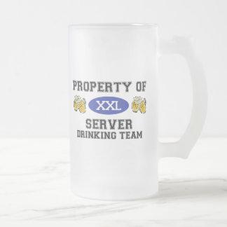 Property of Server Drinking Team Mug