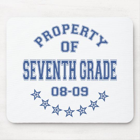 Property Of Seventh Grade Mouse Pad