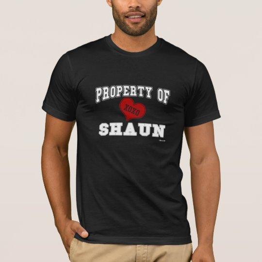 Property of Shaun T-Shirt