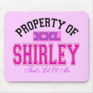 Property of Shirley Mouse Pad