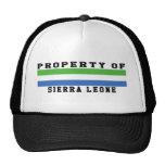 Property Of Sierra Leone Mesh Hats