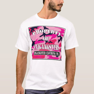 Property of Sinigangsters (pink camo) T-Shirt