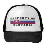 Property Of Slovakia Trucker Hat