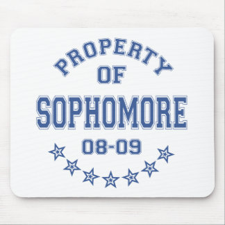 Property Of Sophomore Mouse Pad