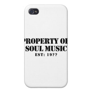 Property Of Soul Music iPhone 4 Case