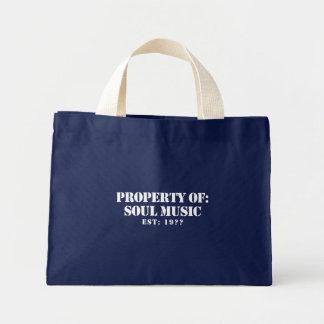 Property Of Soul Music Mini Tote Bag