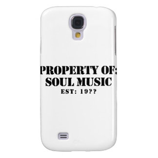Property Of Soul Music Samsung Galaxy S4 Covers