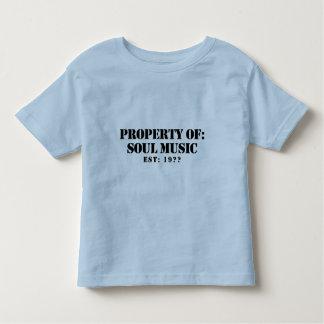 Property Of Soul Music T-shirt