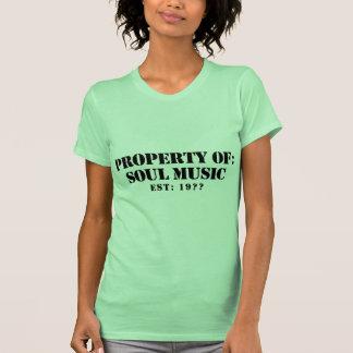 Property Of Soul Music Tee Shirt