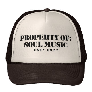 Property Of Soul Music Trucker Hat