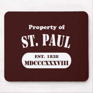 Property of St. Paul Mouse Pad