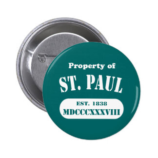 Property of St. Paul Pinback Button