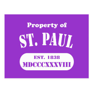 Property of St. Paul Postcard