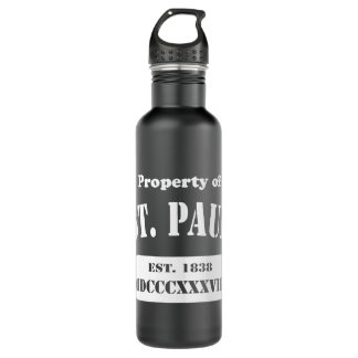 Property of St. Paul Stainless Steel Water Bottle