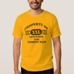 Property of Swimming Team T-Shirt