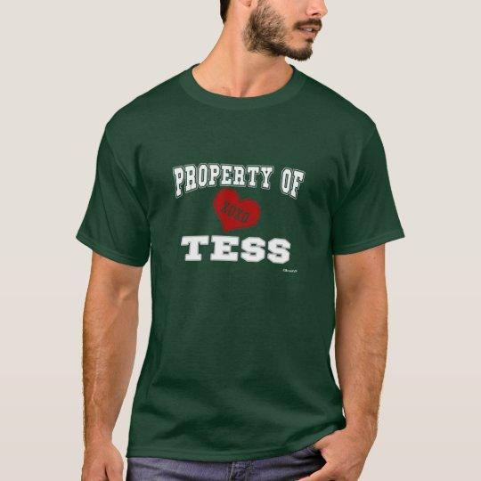 Property of Tess T-Shirt