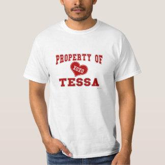 Property of Tessa T-Shirt